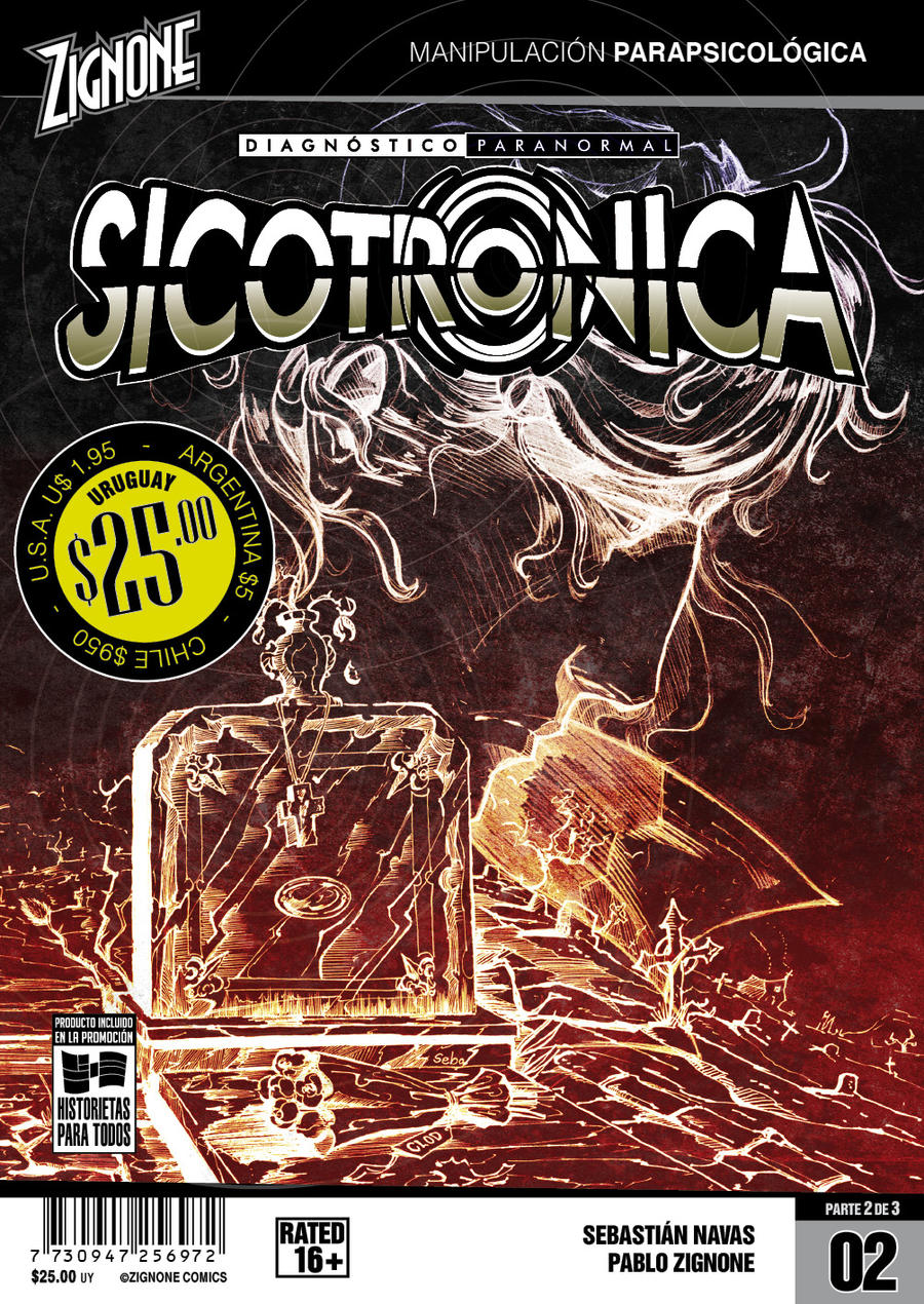 Sicotronica #2 Cover by Zigno
