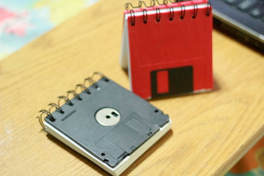 Upcycled: Floppy Pad
