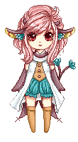 Pixel Art -- Ria by Buujang