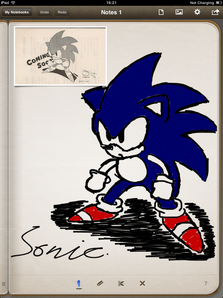 Another Classic Sonic drawing by Samtheantarticfox on ...