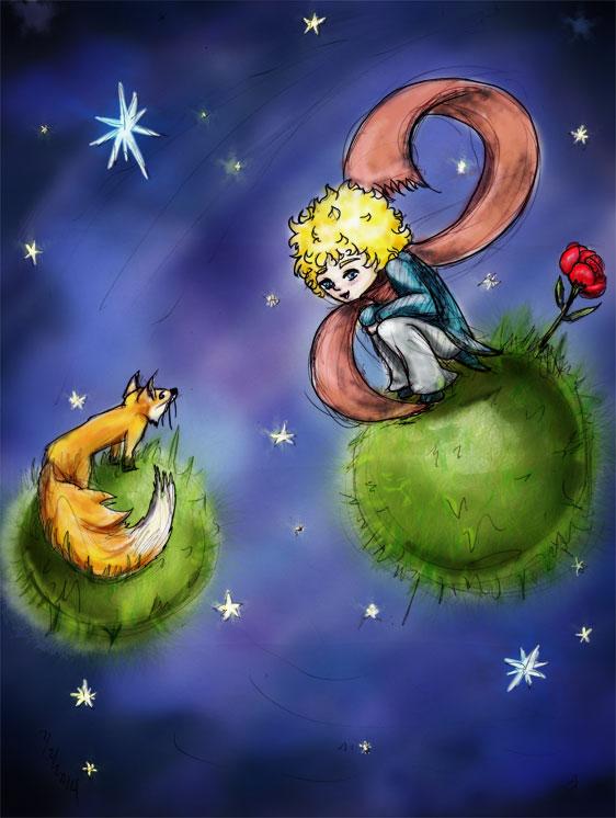 Le petite prince El principito y el zorro by Lupilstinskin