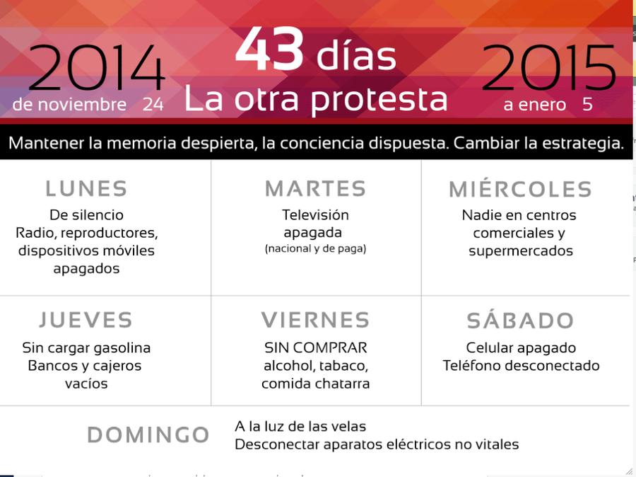 43 Dias La Otra Propuesta by Lupilstinskin