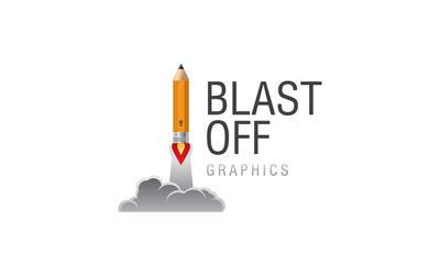 Blast Off - logo by Blashko