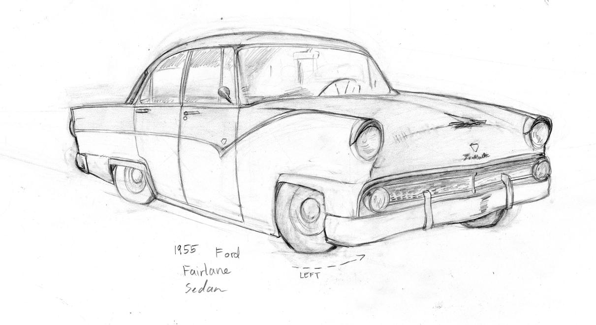1955 ford fairlane by boper9 on deviantart