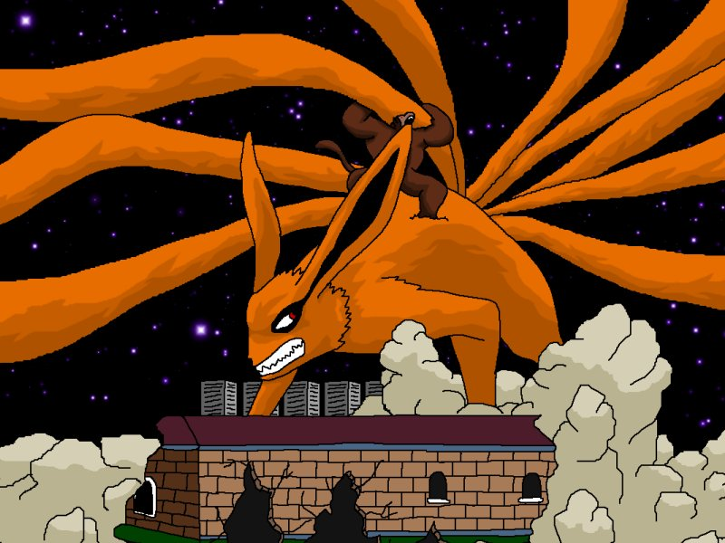 kyuubi vs super oozaru archive anime forum
