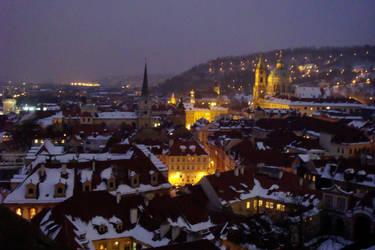 Night-time Prague