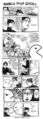 Cromartie Namco High Comic