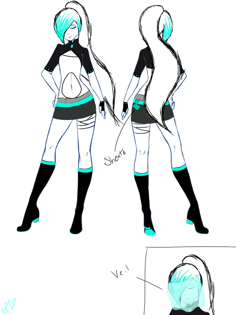Rwby OC Takara Heavana by Srbyssketching on DeviantArt