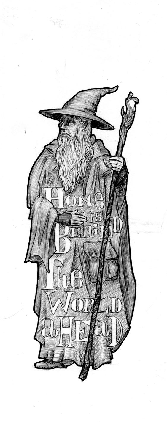 Gandalf's Wisdom by The4thLantern