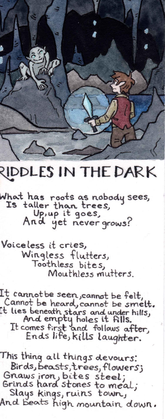 Riddles in the Dark by The4thLantern