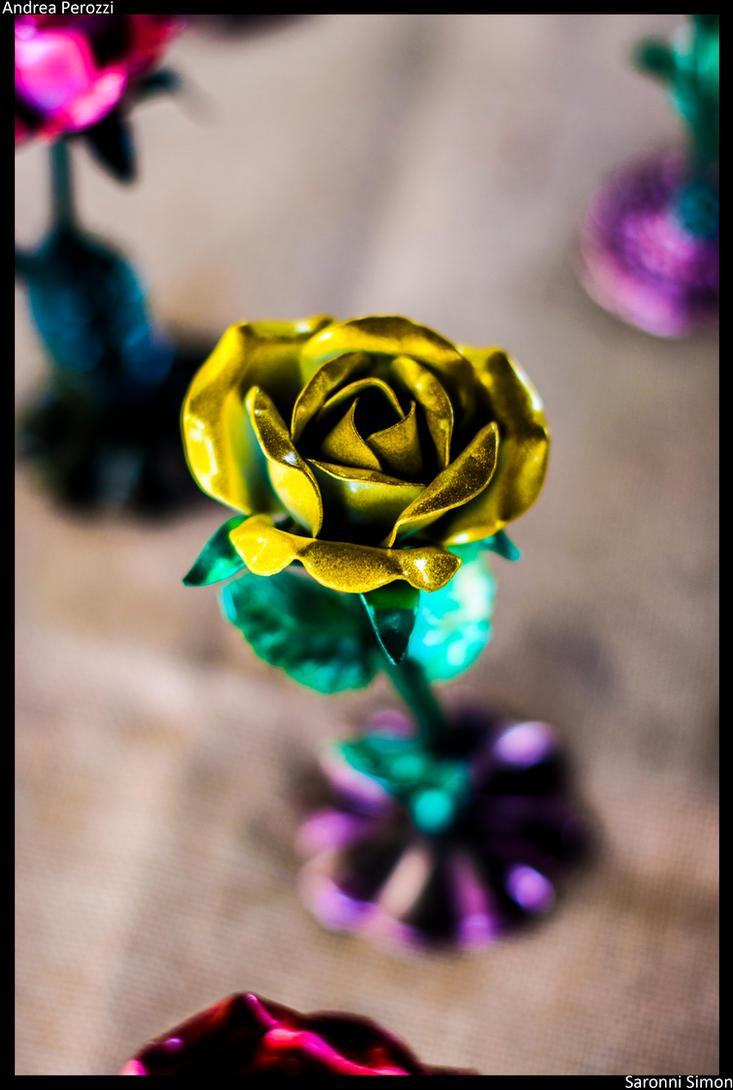 Rose: Yellow by SaronniSimon