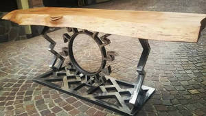Sun coffee table