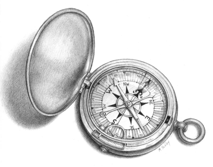 The Magic Compass by MikeSchley on DeviantArt: mikeschley.deviantart.com/art/The-Magic-Compass-180950125