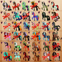 Mini MLP Adopts [Batch 5 : OPEN] by Angelic-Adopts