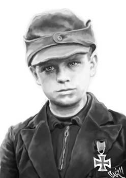 Mini german soldier