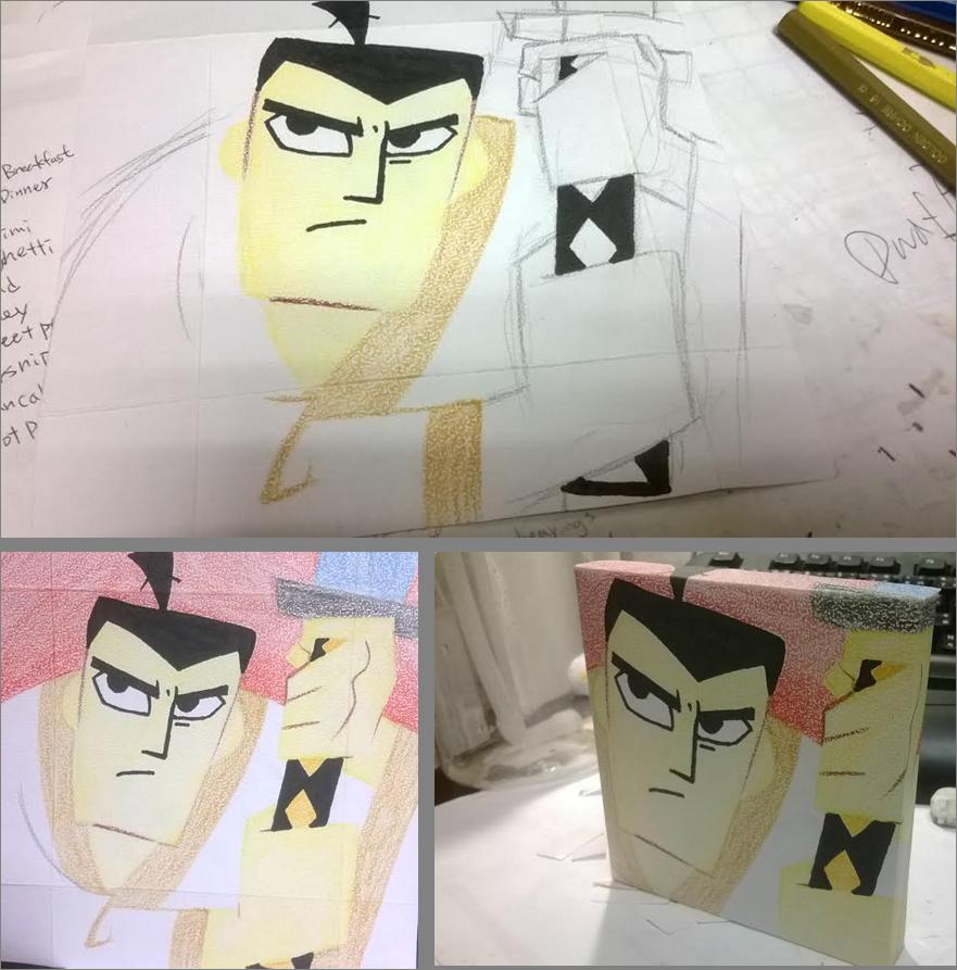 [Tiles Project] samurai JACK by x94u6bj3