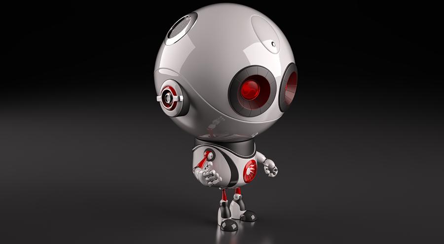 robot 03 by 3d-chocolate on DeviantArt