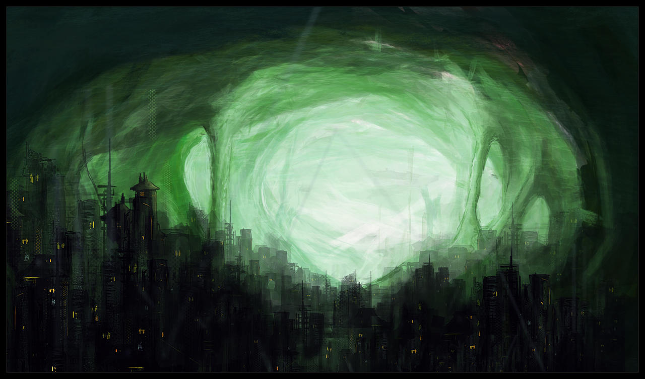 Underground City by eliaslewinsky