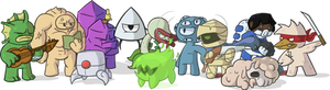 Nuclear Throne Characters