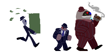 Mafia march [Pixels] by CosmicAscension