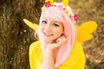 Fluttershy smiling