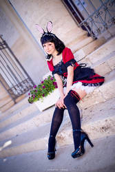 Lovely Bunny Maid by Saru-Cosplay