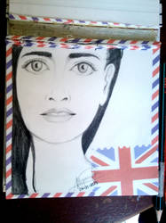 Sketch of some random girl in my head. by SketchMeIfYouCan