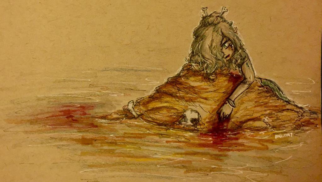 Request #9- Siren by EvilCrayonsOfDoom