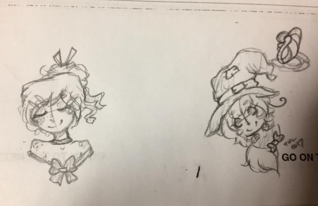 AP Psych Sketches #5!  by EvilCrayonsOfDoom