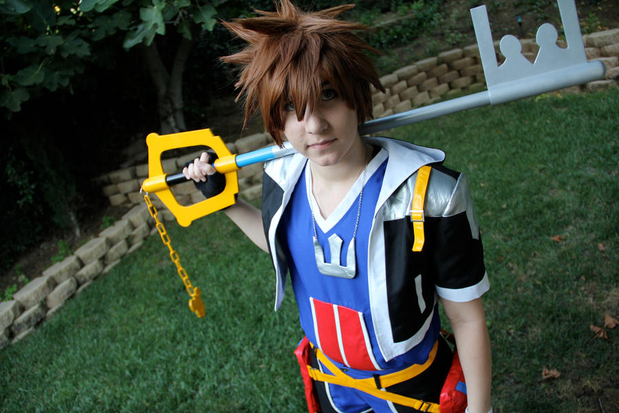 Sora cosplay by OurLivingLegacy on DeviantArt