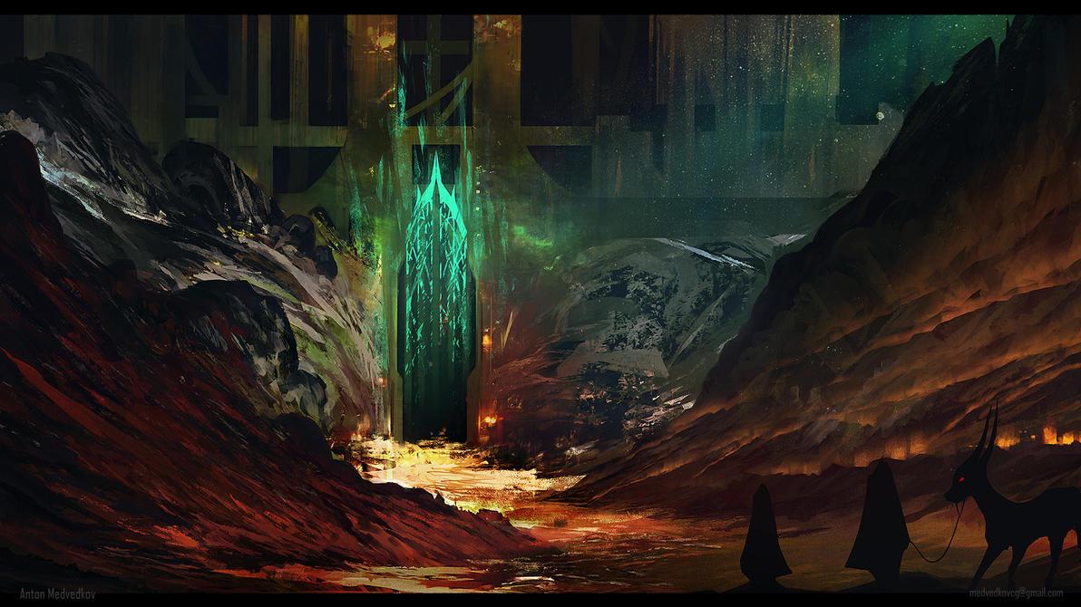 Hidden Gate by AntonMedvedkov