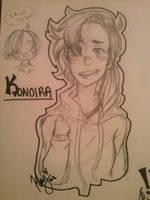 Fan art for Konoira! by SketchyKay01