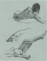 figure sketches by Cissell