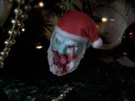 3D printed Zombie Santa Claus Ornament