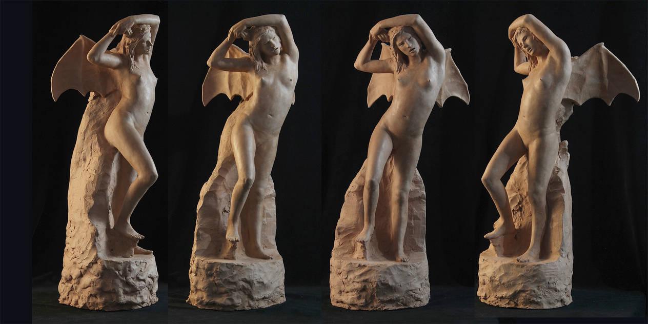 Fury Sculpture