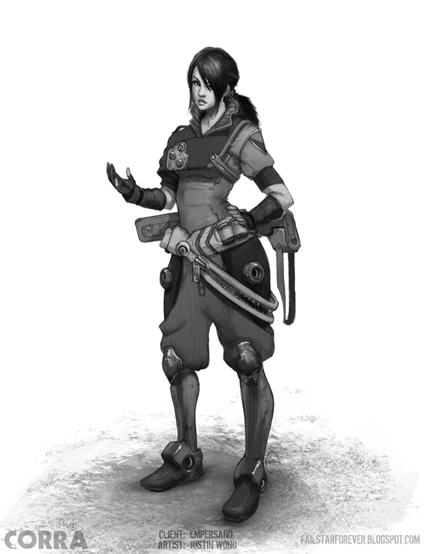 Corra Commission by justinwongart