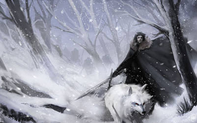 Jon Snow by justinwongart