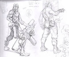 Sketch Dump 05 by justinwongart