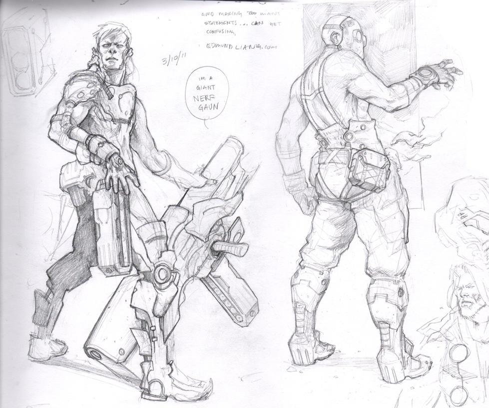 Sketch Dump 05 by failstarforever