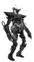 Mech by justinwongart