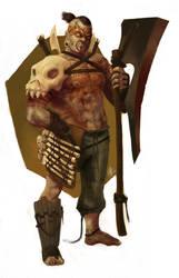 Tribal Dood by justinwongart