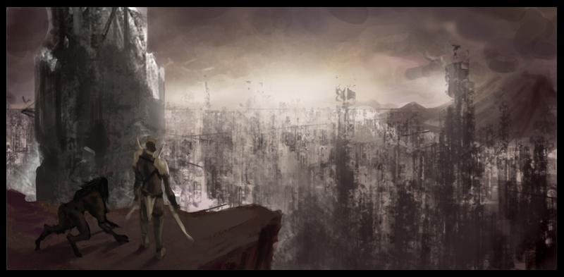 Destroyed City by failstarforever