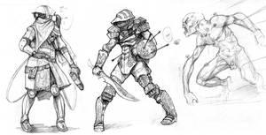 Cere+Swirly Swordsman+Bugger