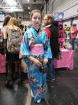 blue kimomo in bloom