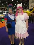 pokemon Officer Jenny and Nurse Joy