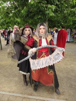 Bloodborne The doll and knight