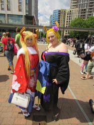 Dragon Maid Tohru and Lucoa