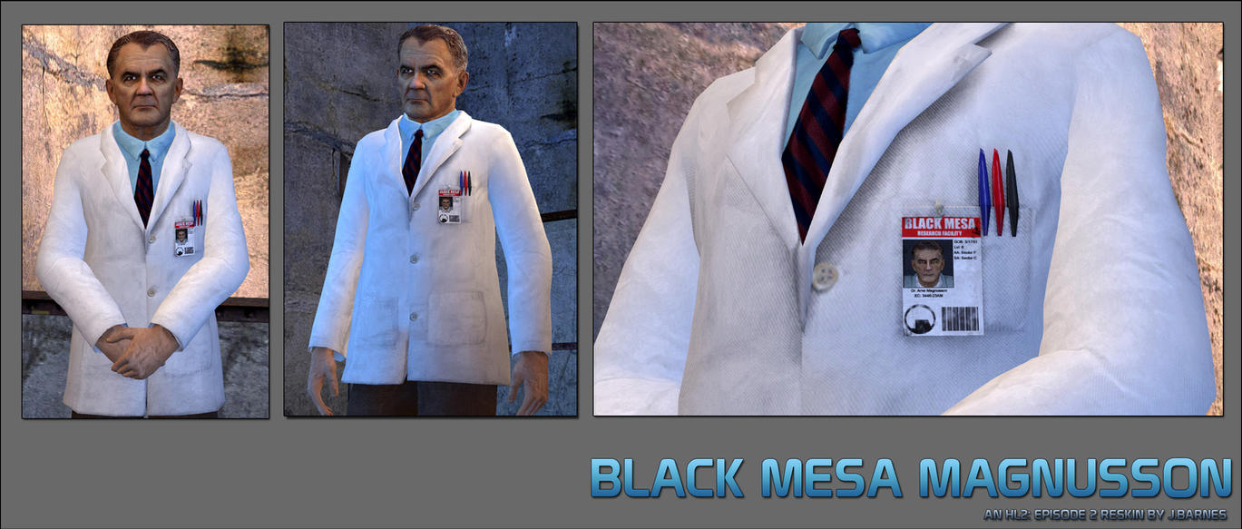Black Mesa Magnusson by Deathbymodding
