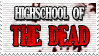 High School Of The Dead Stamp by Deathbymodding