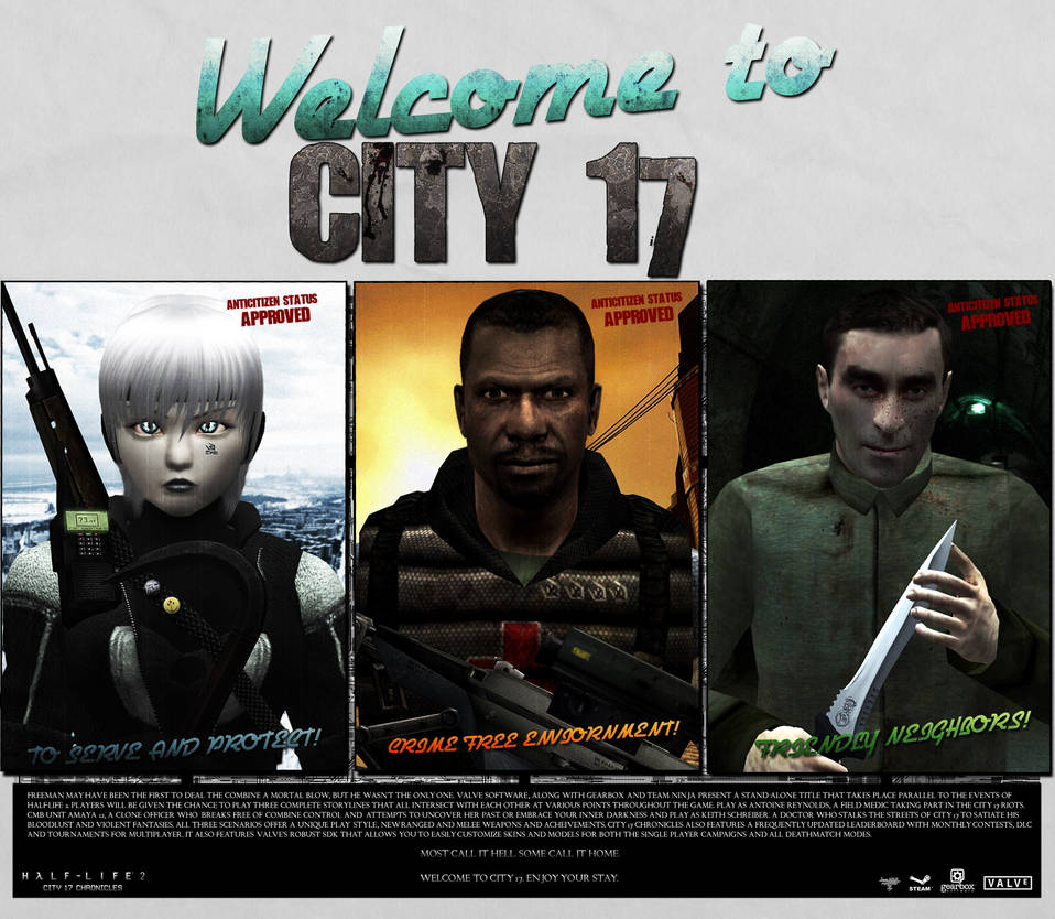 Welcome to City 17 Ad